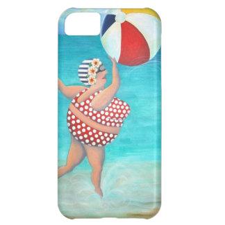 Sylvia at the Beach iPhone 5C Case