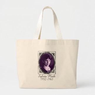 Sylvia Plath Bolsa Tela Grande