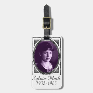 Sylvia Plath Tag For Bags