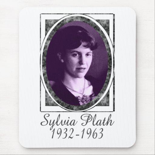 Sylvia Plath Mouse Pad
