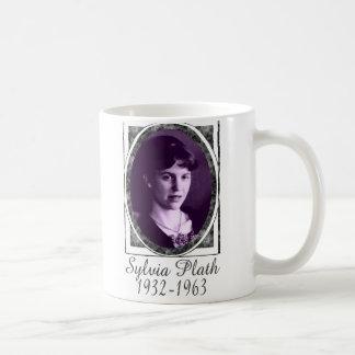 Sylvia Plath Classic White Coffee Mug