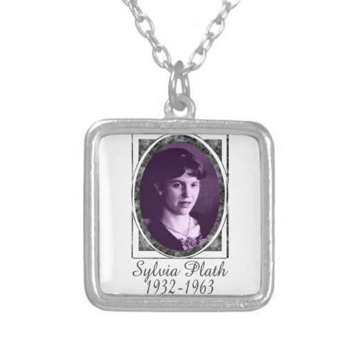 Sylvia Plath Personalized Necklace