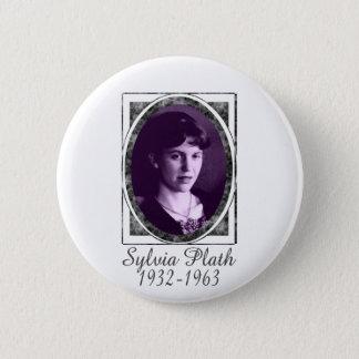 Sylvia Plath Pinback Button