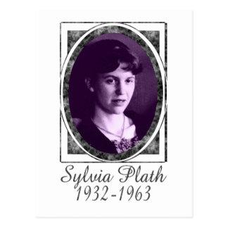 Sylvia Plath Postales