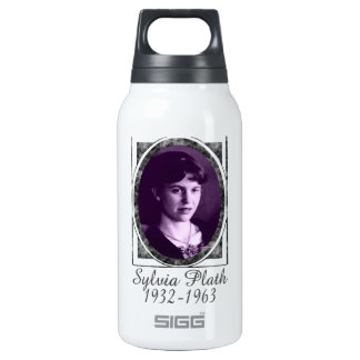Sylvia Plath 10 Oz Insulated SIGG Thermos Water Bottle