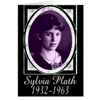 Sylvia Plath Tarjeta De Felicitación