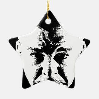 Sym Face original.jpg Ceramic Ornament