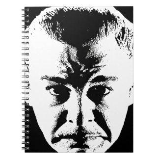 Sym Face original.jpg Spiral Note Book
