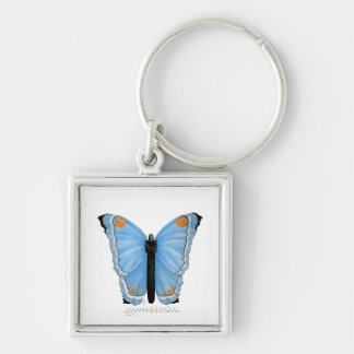 Symbiosis Butterfly Key Chain
