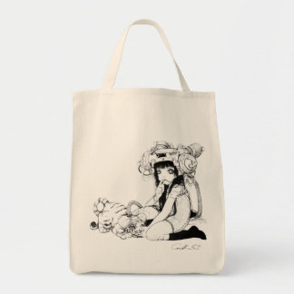 Symbiotic Friends Grocery Tote Grocery Tote Bag