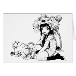 Symbiotic Friends Note Card