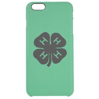 Symbol: 4-H Club Clear iPhone 6 Plus Case