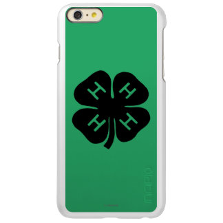 Symbol: 4-H Club Incipio Feather® Shine iPhone 6 Plus Case