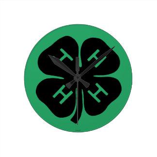 Symbol: 4-H Club Round Clock