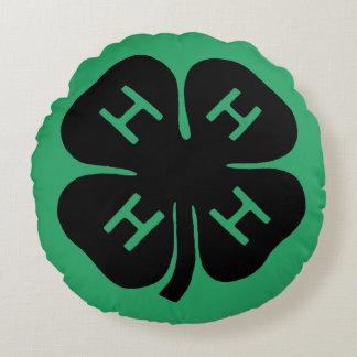 Symbol: 4-H Club Round Pillow