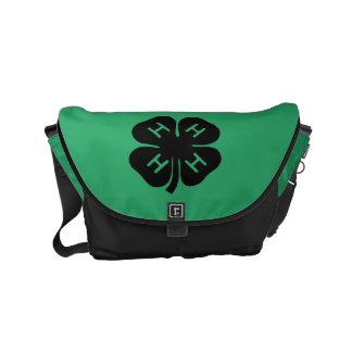 Symbol: 4-H Club Small Messenger Bag