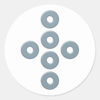 Symbol alchemy Prima Materia alchemy Classic Round Sticker