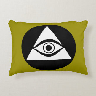 Symbol: All Seeing Eye Decorative Pillow