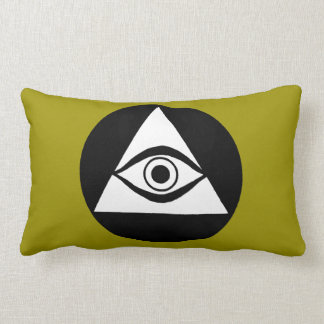 Symbol: All Seeing Eye Lumbar Pillow