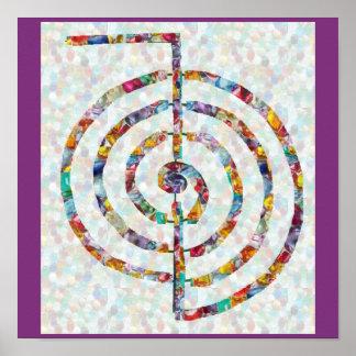 SYMBOL ART 2014 - Reiki Master Practice Poster