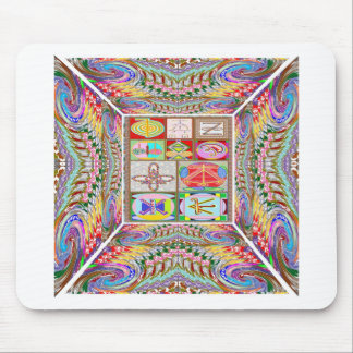 SYMBOL art : Compassion n Healing go together Mousepads
