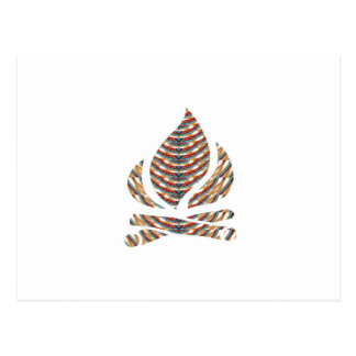 SYMBOL ART: Fire FLAME Energy Action LOWPRICE STOR Postcard