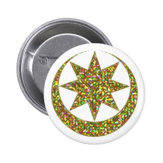 Symbol Astarte Ishtar 2 Inch Round Button