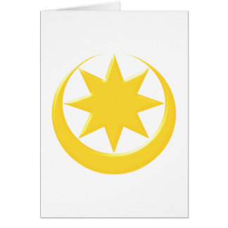 Symbol Astarte Ishtar Card