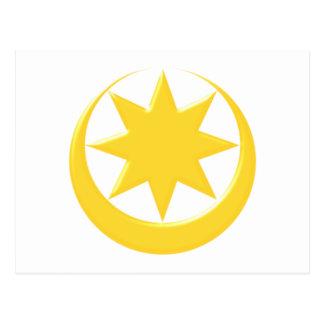 Symbol Astarte Ishtar Postcard