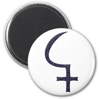 Symbol asteroid of cerium 2 inch round magnet