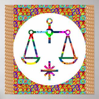 Symbol Balance Spiritual Moral Ethics Health Life Poster
