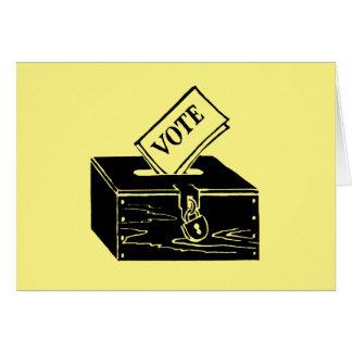 Symbol: Ballot Box Card