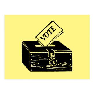 Symbol: Ballot Box Postcard