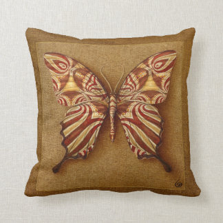 SYMBOL-BUTTERFLY THROW PILLOWS
