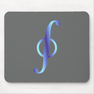 Symbol curve integral path integral mouse pad