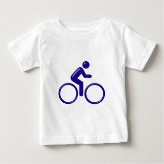 Symbol cyclist bicyclist baby T-Shirt