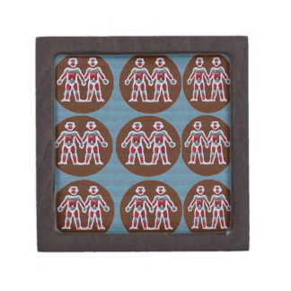 SYMBOL Deco Patterns: FUN Events Greetings GIFTS Jewelry Box