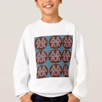 SYMBOL Deco Patterns: FUN Events Greetings GIFTS Sweatshirt
