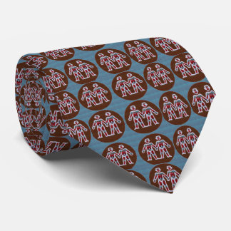 SYMBOL Deco Patterns: FUN Events Greetings GIFTS Tie