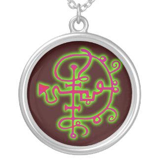 Symbol demon demon Asmodäus Asmodis Silver Plated Necklace
