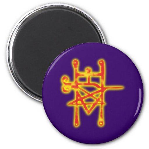 Symbol demon demon Astaroth Magnets