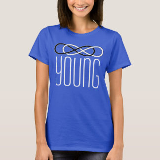 Symbol double Infinity - Black & White + young T-Shirt