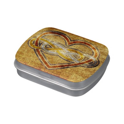 Symbol double Infinity Heart BiColor Jelly Belly Tins