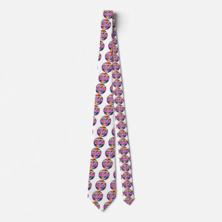 Symbol double Infinity Heart colorful shine Tie