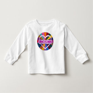 Symbol double Infinity Heart colorful shine Toddler T-shirt