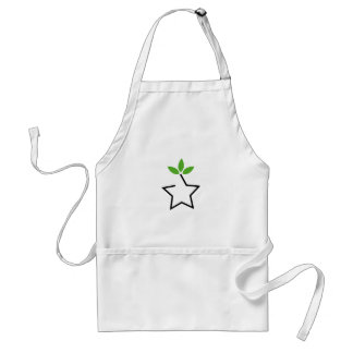 Symbol for ecological balance aprons