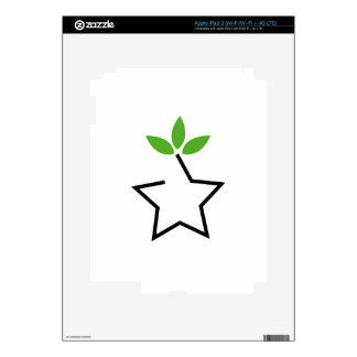 Symbol for ecological balance iPad 3 decal
