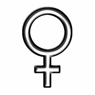 Symbol for Female Photo Cutouts