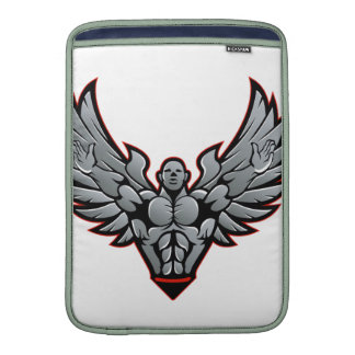 Symbol for gym and fitness MacBook air sleeve
