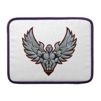 Symbol for gym and fitness sleeve for MacBook air